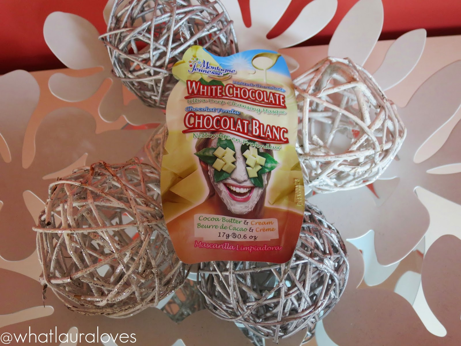 7th Heaven White Chocolate Face Mask Review Montagne Jeunesse