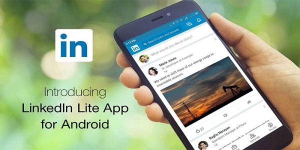 Aplikasi Linkedln  Lite