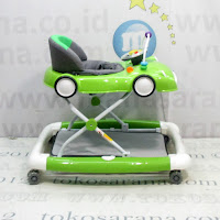 Baby Walker Care CW1032 2 In One Car Melody
