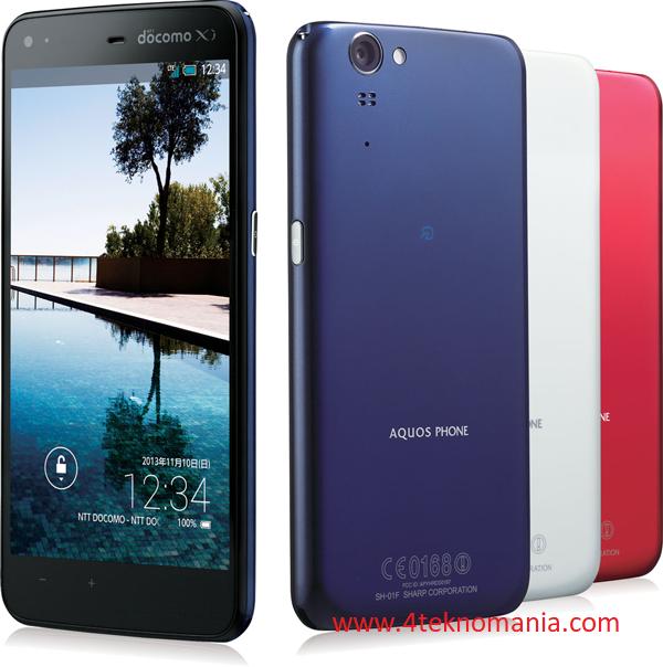 Review Spesifikasi Sharp Aquos Zeta Sh-01f Android Murah RAM