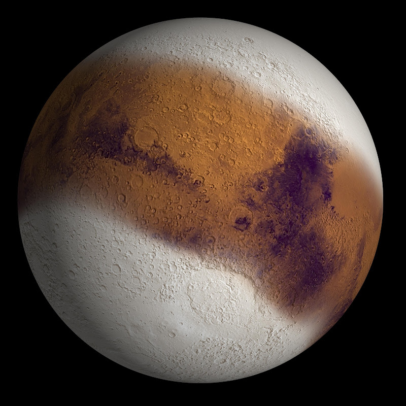 Image result for ice age on mars