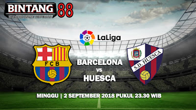 Prediksi FC Barcelona vs SD Huesca 2 September 2018