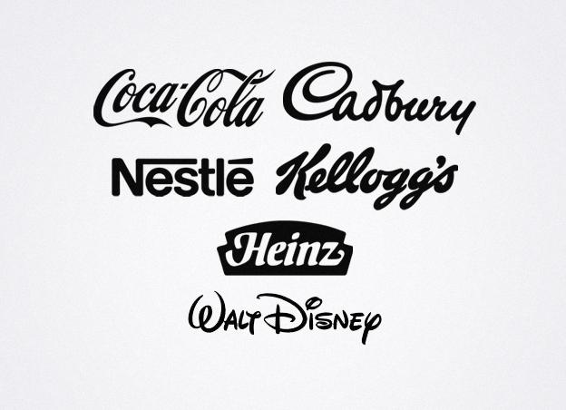 teknik desain Logo tulisan