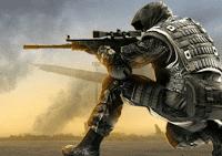 لعبة تبادل النار الحربية