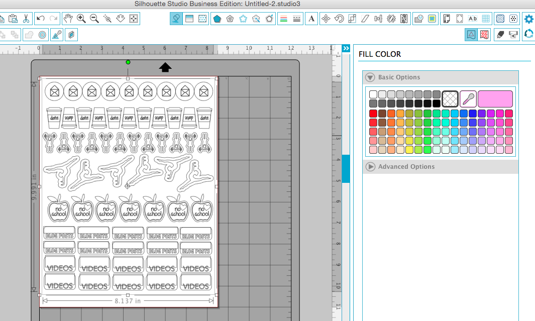 Silhouette Pixscan Hack Avoids Sticker Paper Waste And
