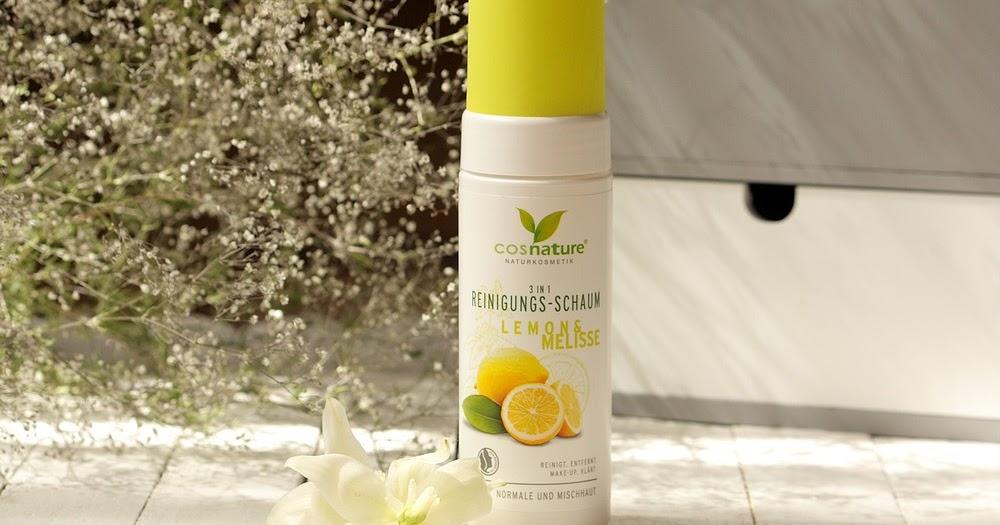 Cosnature, Naturalna pianka oczyszczająca 3w1z cytryną i melisą