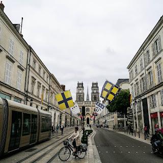 Orléans avec Huawei p9