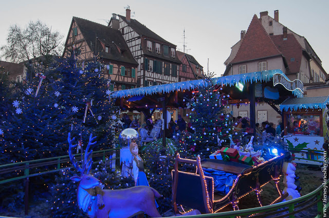 Colmar visitar Alsacia Navidad