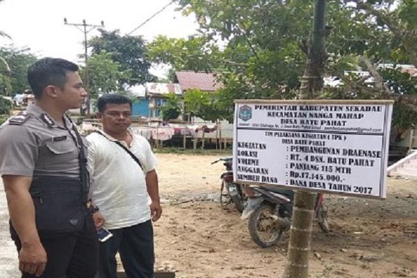 Cek Alokasi Anggaran Dana Desa Batu Pahat di Sekadau