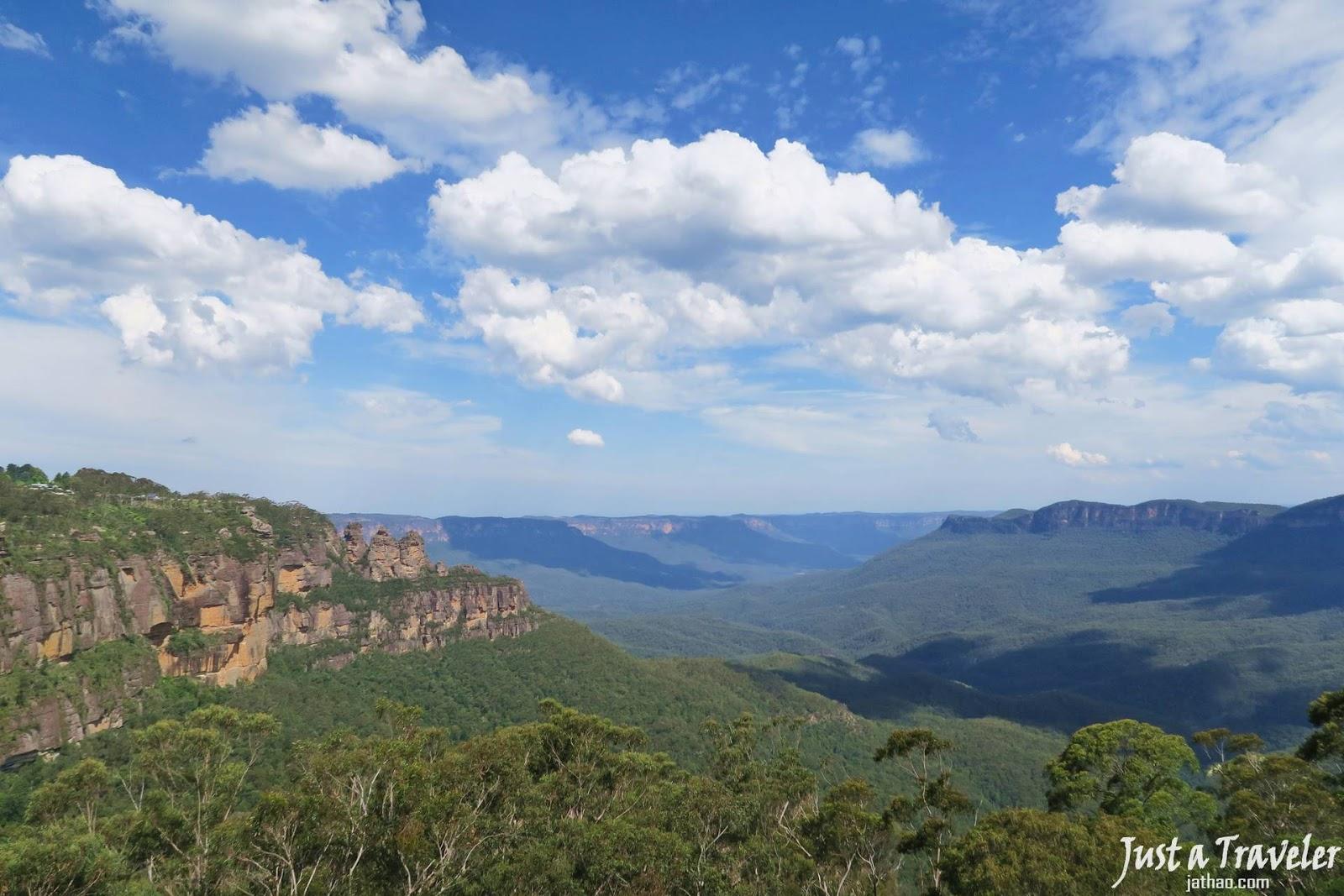 雪梨-藍山景點-藍山-藍山行程-藍山交通-藍山旅遊-藍山自由行-澳洲藍山-Sydney-Blue-Mountains-Tourist-Attraction-Travel-Australia