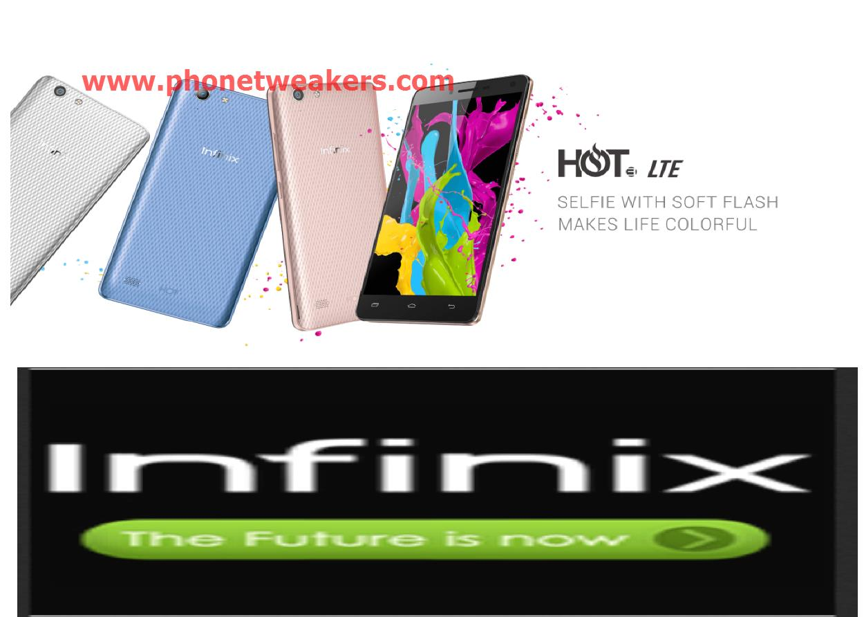 Download] Stock Official INFINIX HOT 3 LTE X553 Firmware