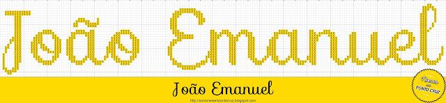 Nome João Emanuel em Ponto Cruz