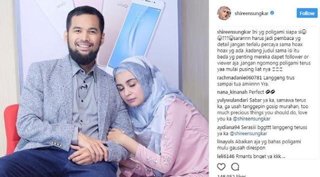 Gosip Teuku Wisnu Diisukan Poligami, Mark Sungkar Malah Berkata : Alhamdulillah