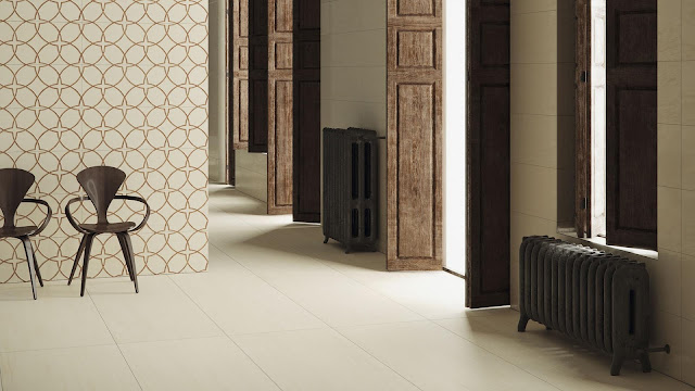 Tiles decoration ideas of Duna series