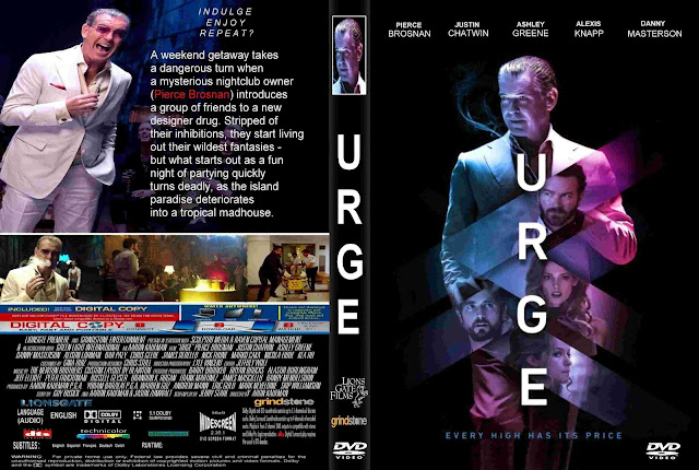 Urge DVD Cover