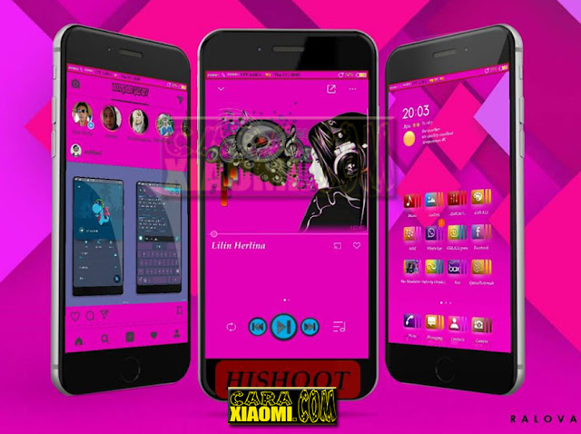 Thema MIUI Xiaomi Gulali Mtz For V9 Theme / V8 Theme New Desain