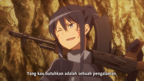 Sword Art Online Alternative: Gun Gale Online Episode 3 Subtitle Indonesia