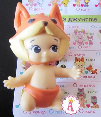 Пупсик Фанни из коллекции игрушек Twozies
