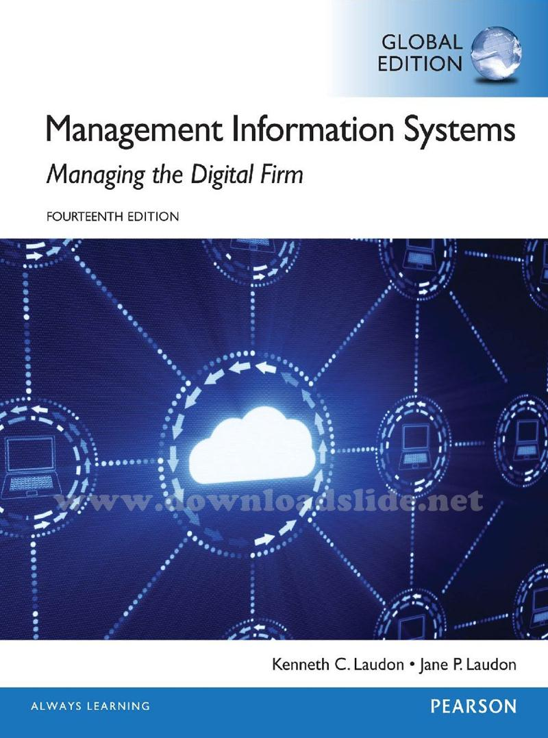 Ebook Management Information Systems 14th Edition By Laudon Laudon
