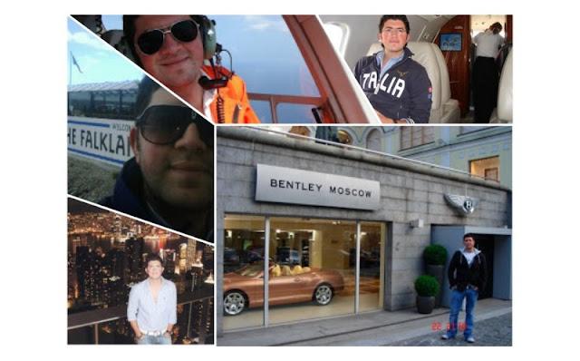 Hijo de Gerardo Ruiz Esparza presume en redes su vida de magnate.