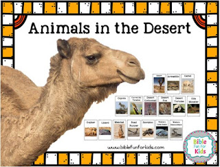 http://www.biblefunforkids.com/2018/08/god-makes-desert-animals-camels.html