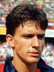 Eranio played for Genoa, AC Milan and Derby County
