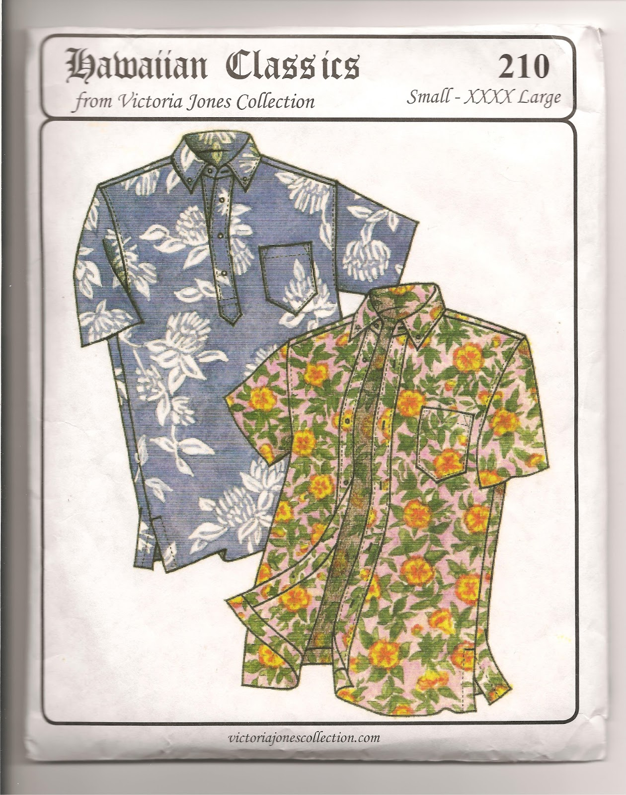 Hawaiian Shirt Patterns : hawaiian, shirt, patterns, Hawaiian, Shirt, Sewing, Pattern
