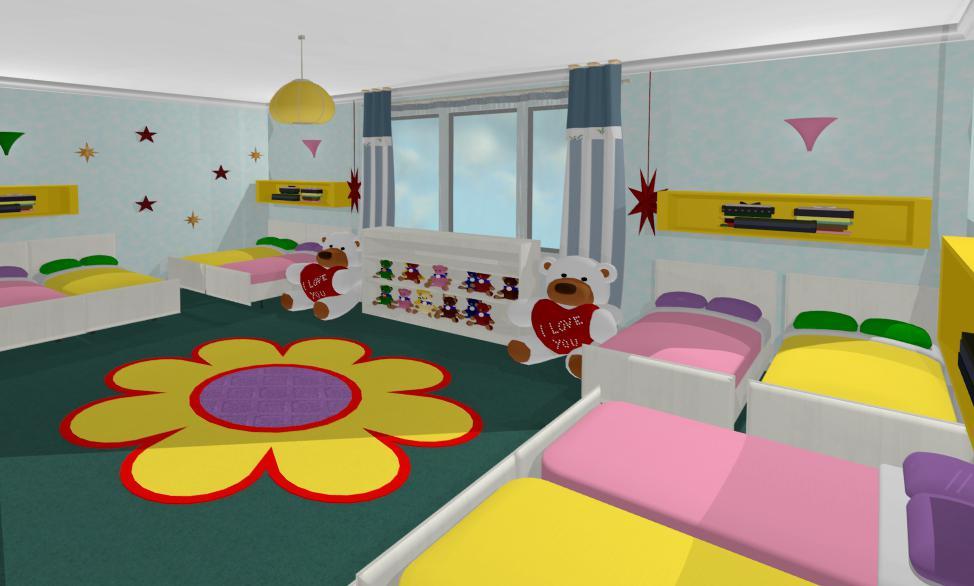 Design Interior - Amenajari Interioare / Proiect design interior gradinita Constanta - Bucuresti