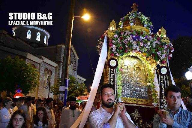 Η εορτή του Αγίου Πνεύματος στην Αγία Τριάδα του Δήμου Ναυπλιέων (βίντεο)