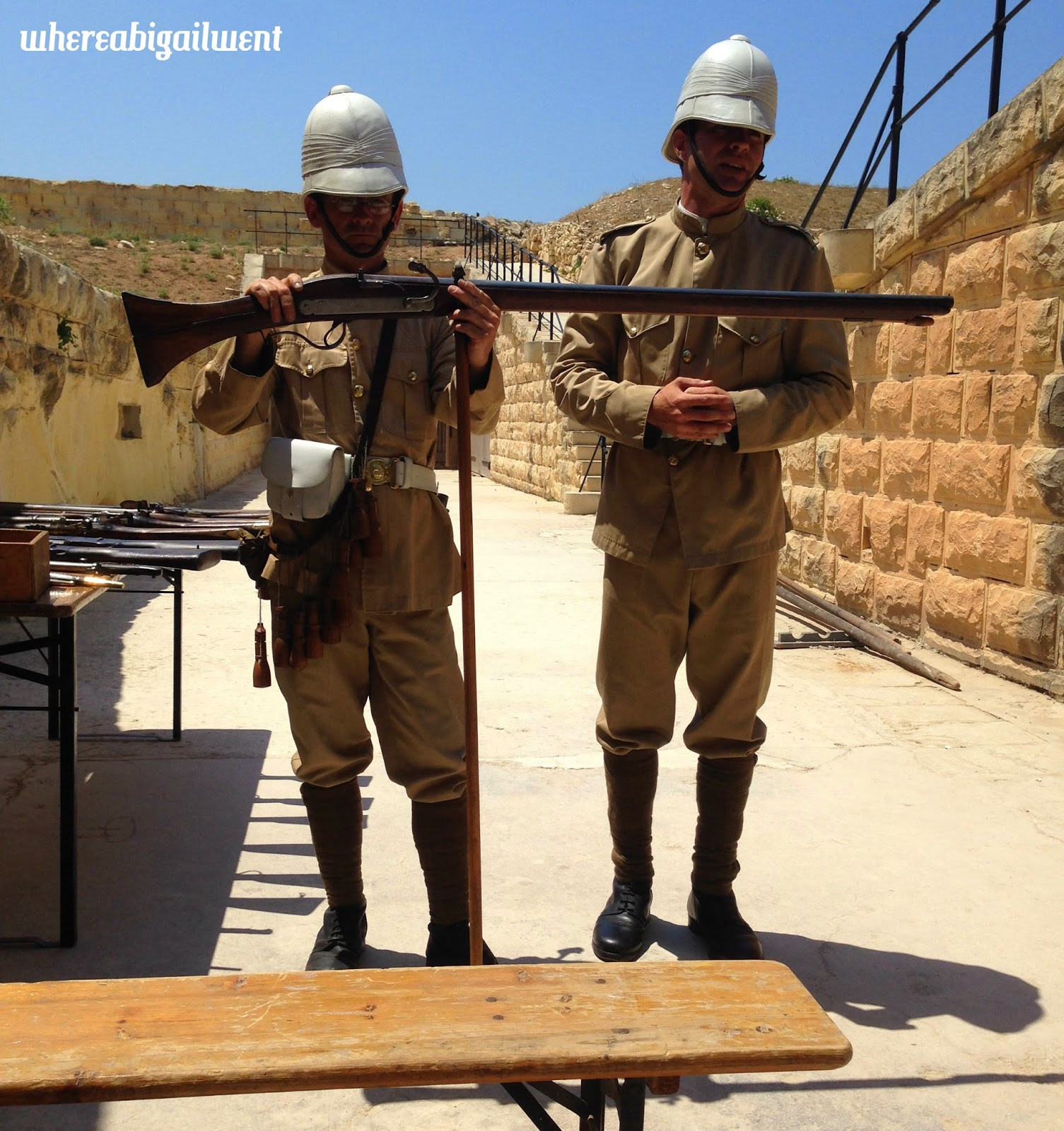 Historical Re-enactment Fort Rinella
