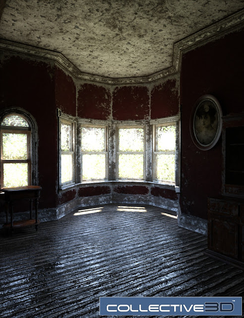 Collective3d Movie Sets Derelict Victorian Dining Room