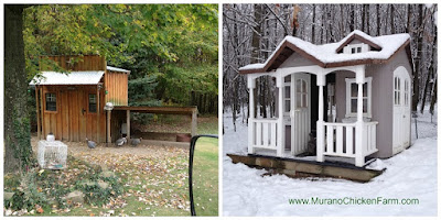 Good winter chicken coops