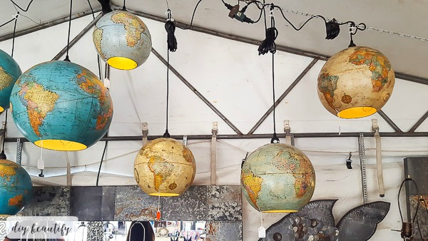 Round Top globe lights | diy beautify