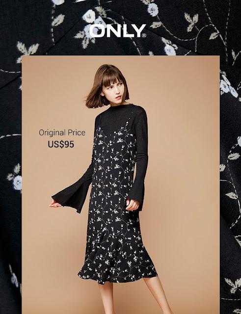 ONLY Little flower 2PCS Korea style dress