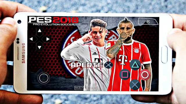 Download PES 2018 Android Offline And New Menu HD Graphics