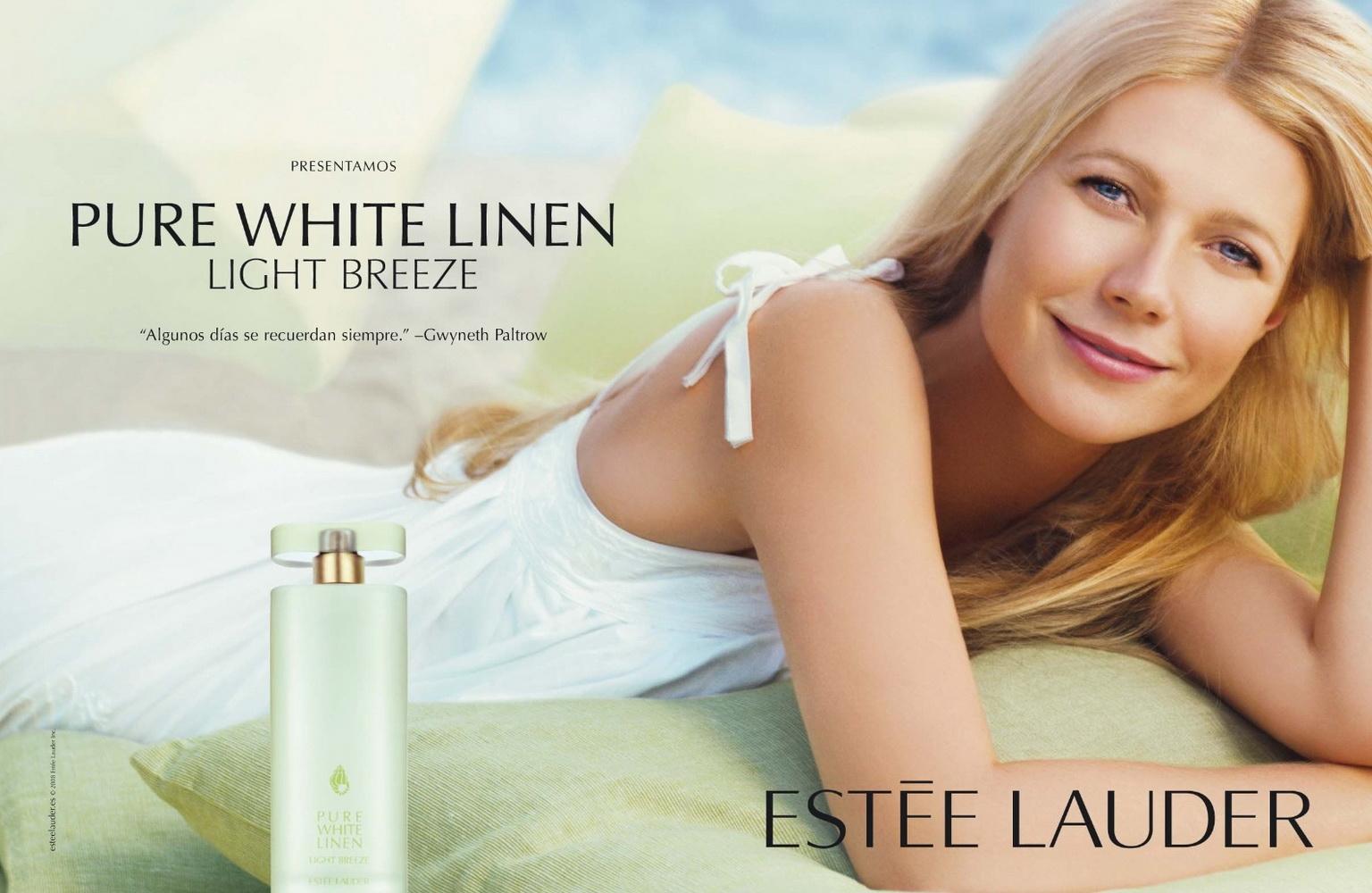 Gwyneth Paltrow in Estee Lauder's perfume ad