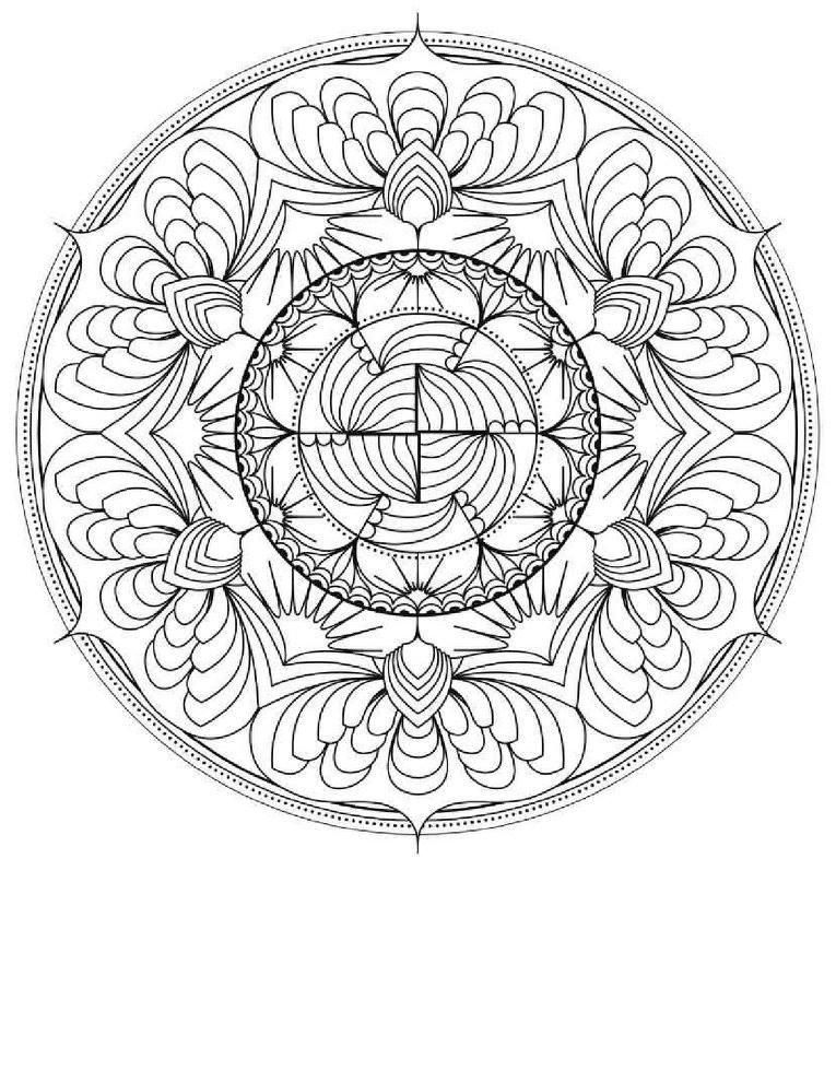 Day Of The Dead Flowers Coloring Pages