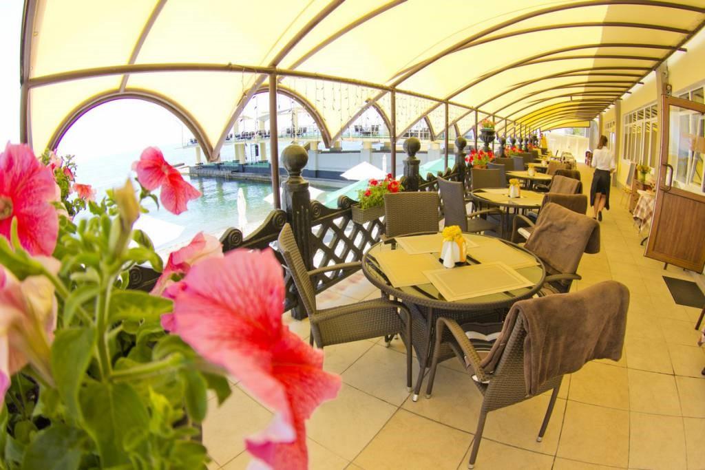Ресторан в санатории Ай-Даниль в Гурзуфе