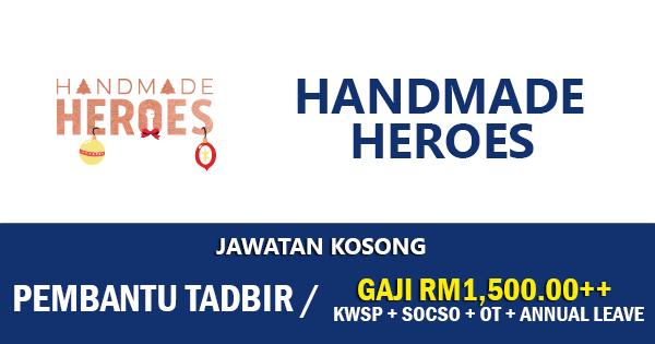 Jawatan Kosong di Handmade Heroes