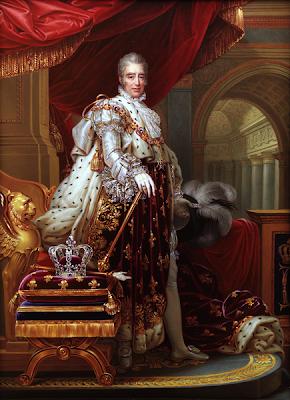 Charles X by Jean-Baptiste Paulin Guérin, 1827