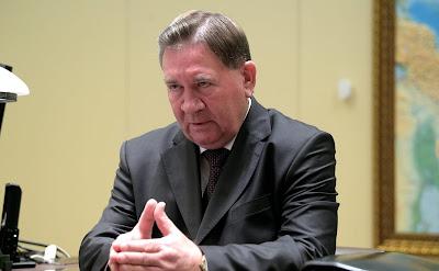 Alexander Mikhailov Kursk Region Governor Russia