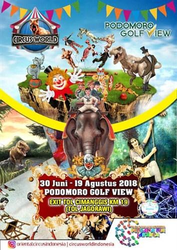 event bulan agustus 2018 Circus World Indonesia 2018