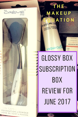 GlossyBox Subscription Box Review for the June 2017, Tropical Beauty box.  I have included three coupons, two of which are for free products!