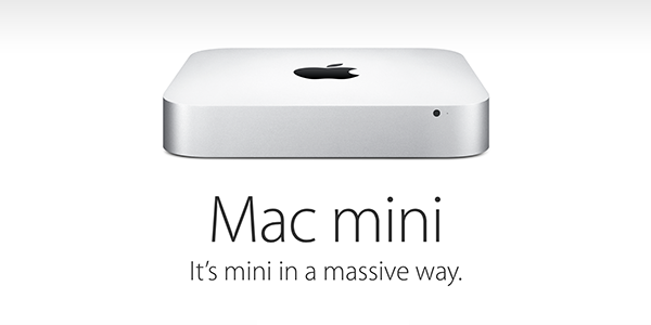 Apple Mac mini refresh announced, now starts at $499