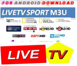 Download LiveTV M3U LINK FOR LIVE TV CHANNEL  LiveTV Channel M3u Link For Premium Cable Tv,Sports Channel,Movies Channel.