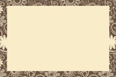 Invitaciones para imprimir gratis en marr n y beige - Marcos rusticos para fotos ...