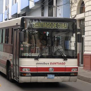 Santiago de Cuba, städtischer Omnibus.
