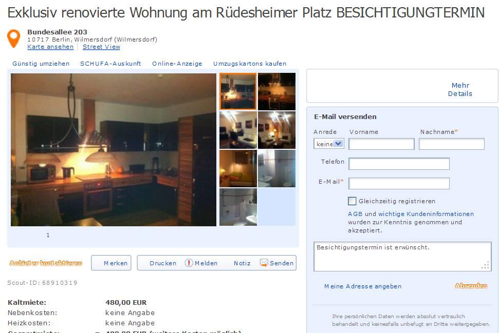 Exklusiv renovierte Wohnung am Rdesheimer Platz