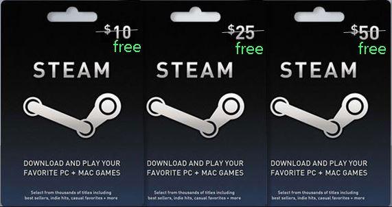 Cara Mudah Dapat Steam Wallet Code Gratis