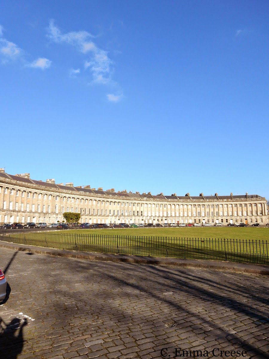 Royal Crescent and The Circle Bath